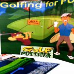 Golf Putting Game Stall