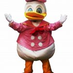 Famous Duckie Mascot