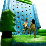 Rock Climbing Inflatable – Mountain Challenge – Twin Peak