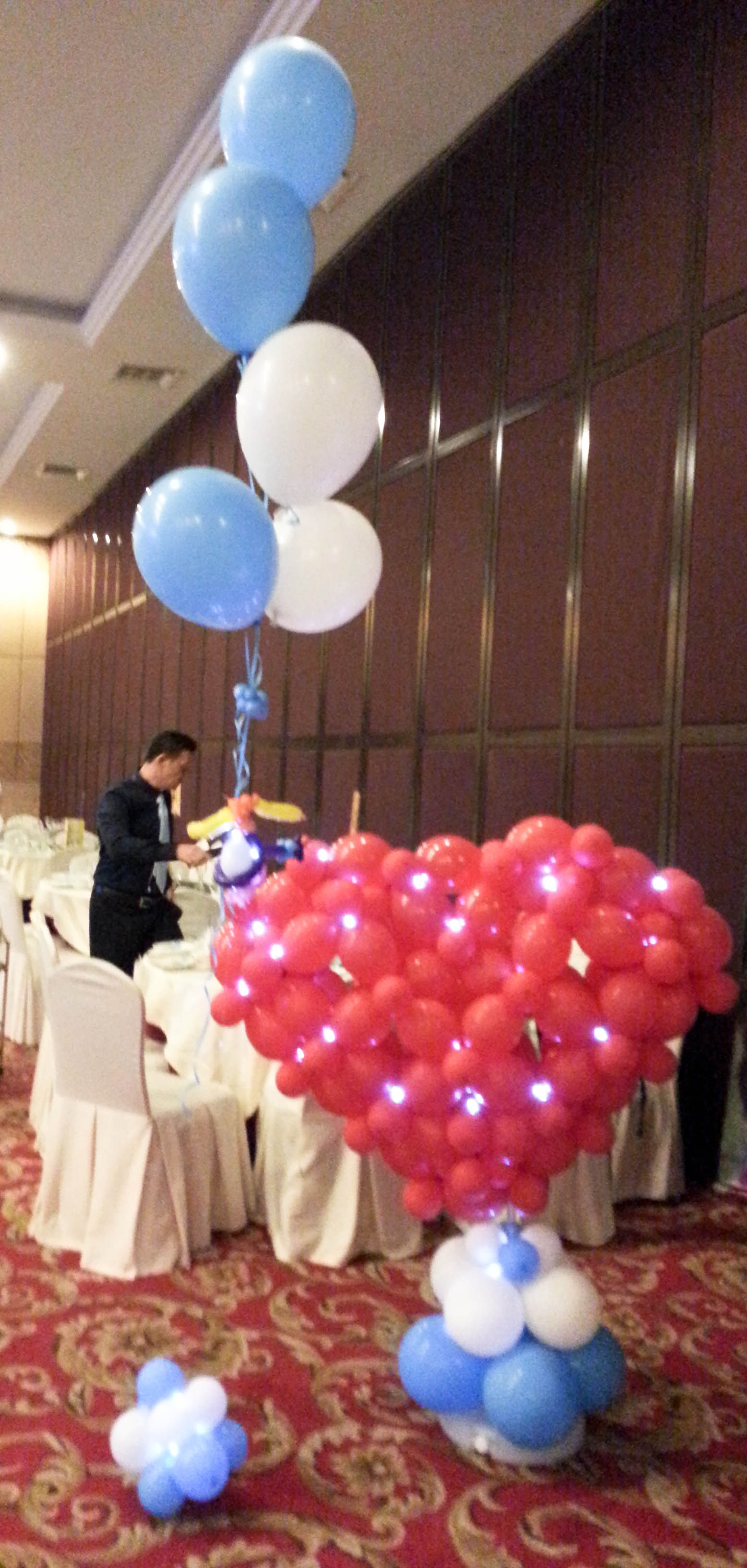 Wedding balloon decorations for events allan friends studios want allan friends studios wedding balloon decorations at your event in kuala lumpur kl petaling jaya pj the klang valley selangor or elsewhere junglespirit Gallery