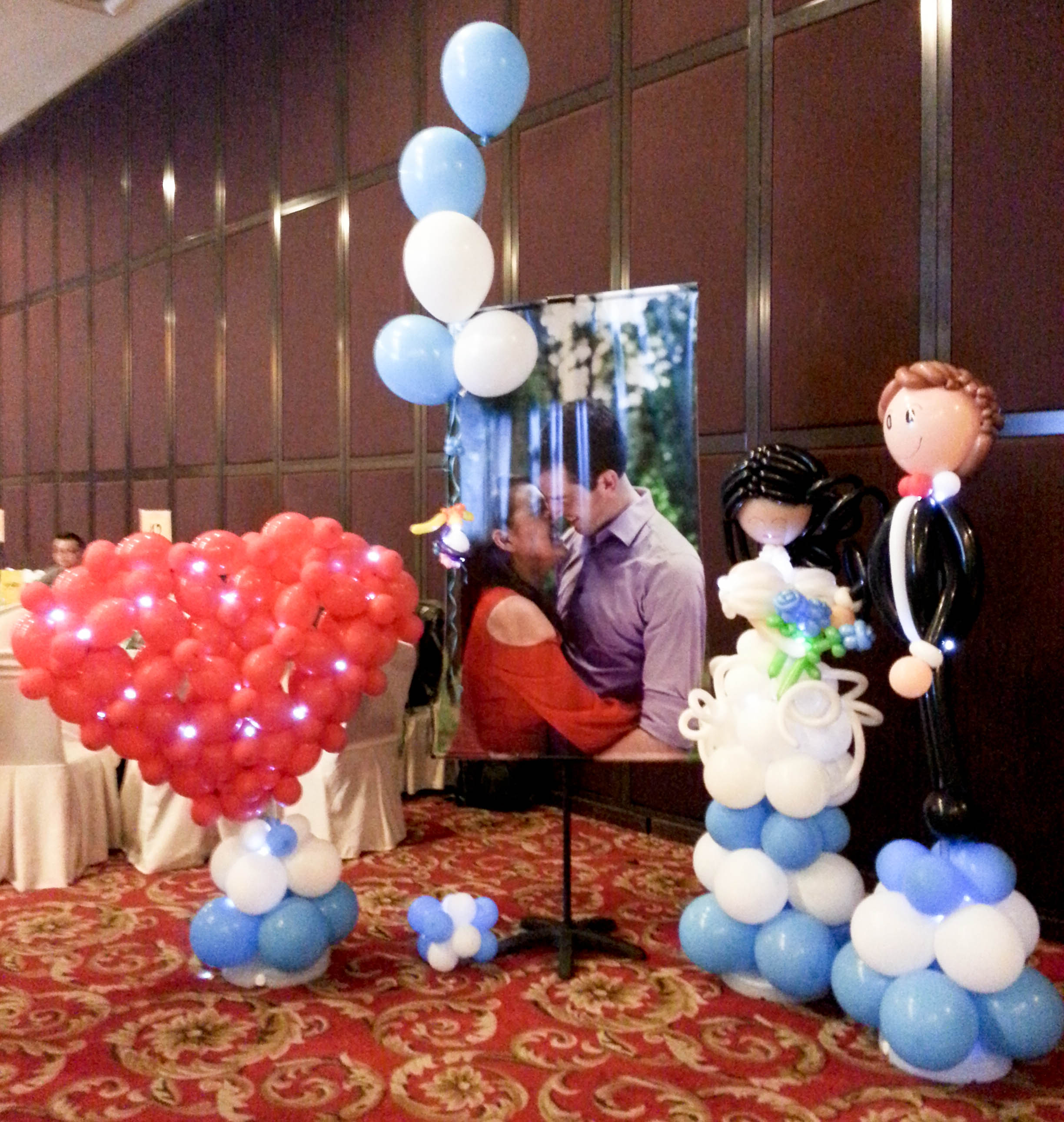 Wedding balloon decorations for events allan friends studios want allan friends studios wedding balloon decorations at your event in kuala lumpur kl petaling jaya pj the klang valley selangor or elsewhere junglespirit Image collections