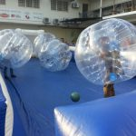 Bumper Ball (Soccer) with Inflatable Mini-Stadium
