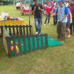 Coconut Bowling Game Stall