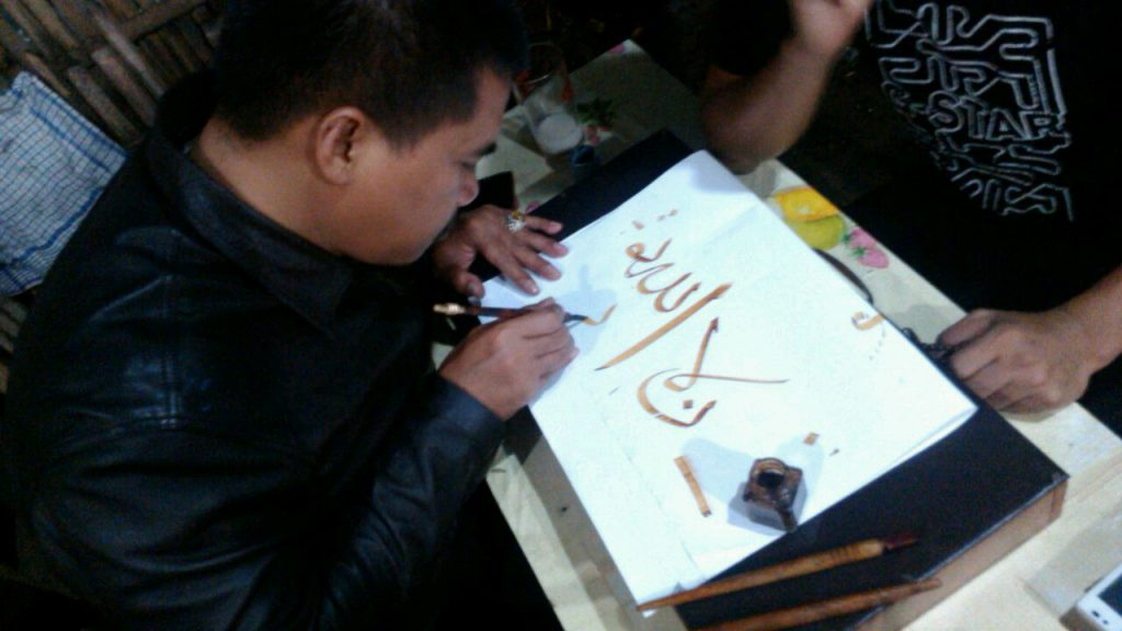 Jawi Calligraphy Artist