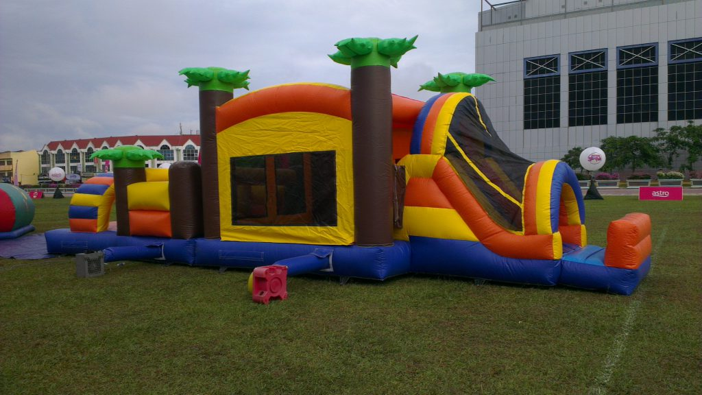 Inflatable Multi-Fun Play-Land