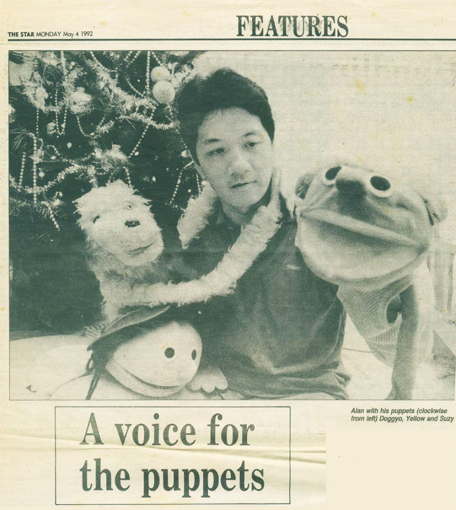 A voice for the puppets