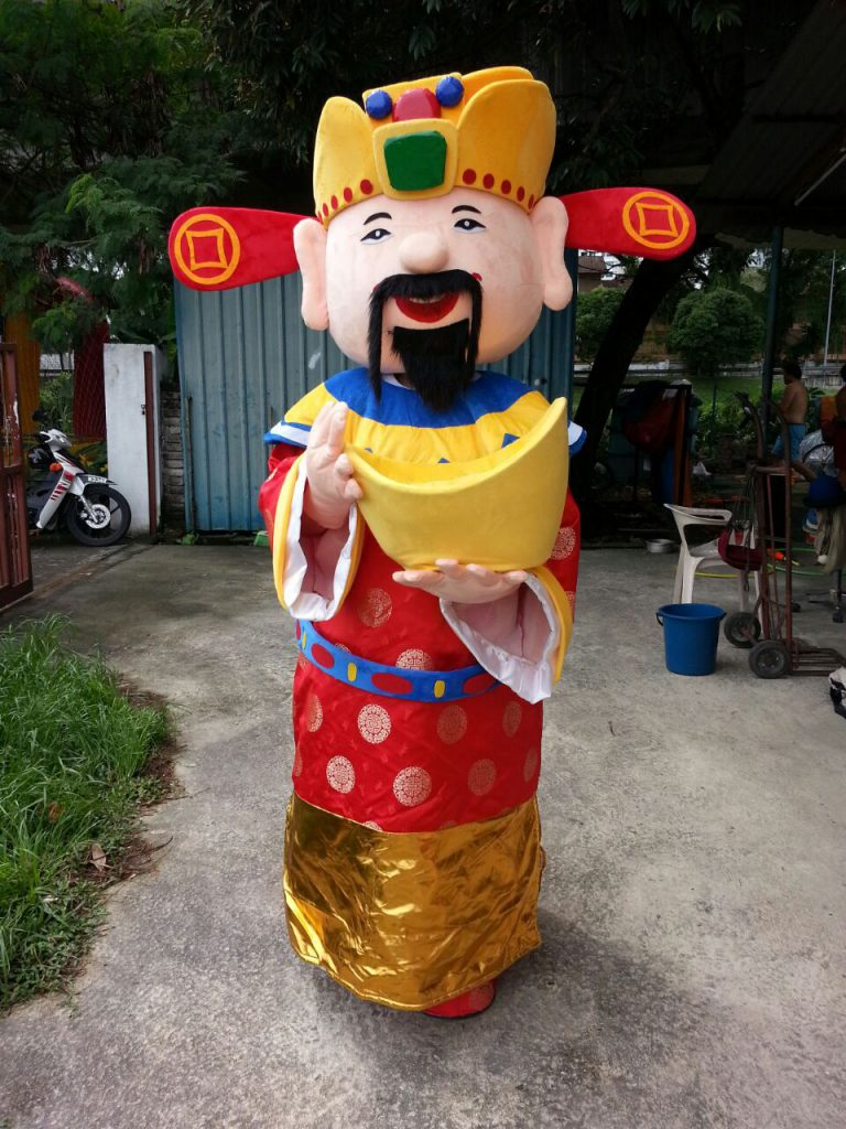 "CNY Prosperity ""Choy San"" Cartoon Mascot"