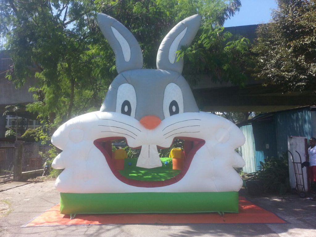 Inflatable Rabbit Combo Bouncer